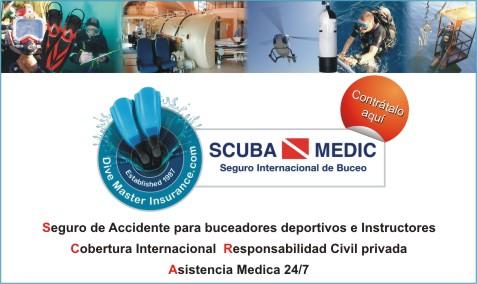 Web banner Scuba Medic espanol